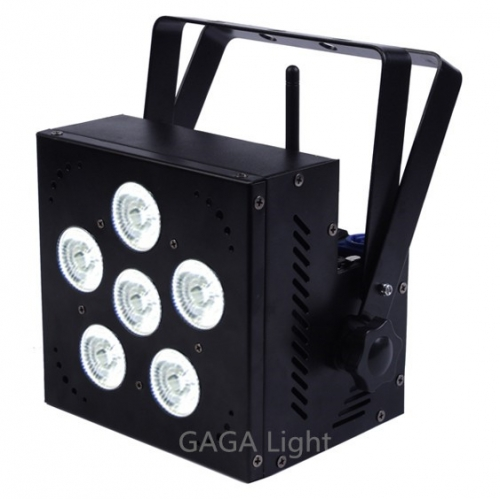 6x18W RGBAWA Wireless Par Can